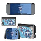 Tennessee Titans decal skin sticker for Nintendo Switch console and controllers
