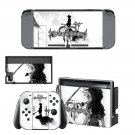 Kingdom Hearts 3 decal skin sticker for Nintendo Switch console and controllers