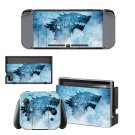 Game of Thrones decal skin sticker for Nintendo Switch console and controllers