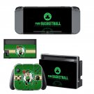 Boston Celtics decal skin sticker for Nintendo Switch console and controllers