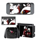 Arizona Cardinals decal skin sticker for Nintendo Switch console and controllers