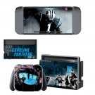 Carolina Panthers decal skin sticker for Nintendo Switch console and controllers