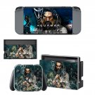 AquaMan decal skin sticker for Nintendo Switch console and controllers