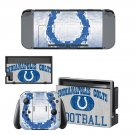 ndianapolis colts decal skin sticker for Nintendo Switch console and controllers