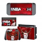 NBA 2K14 decal skin sticker for Nintendo Switch console and controllers