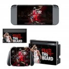 James Harden decal skin sticker for Nintendo Switch console and controllers