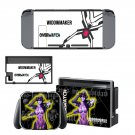 Overwatch widowmaker decal skin sticker for Nintendo Switch console and controllers