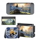 The Legend of Zelda decal skin sticker for Nintendo Switch console and controllers