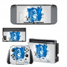 Duke Blue Devils men's basketball decal skin sticker for Nintendo Switch console and controllers