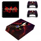 Onimusha decal skin sticker for PS4 Pro console and controllers