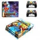 Dragon Quest Builders decal skin sticker for PS4 Pro console and controllers