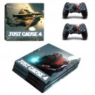 Just Cause 4 decal skin sticker for PS4 Pro console and controllers