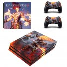 Darksiders 3 decal skin sticker for PS4 Pro console and controllers