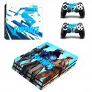 Fortnite decal skin sticker for PS4 Pro console and controllers