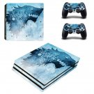 Game of Thrones decal skin sticker for PS4 Pro console and controllers