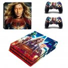 Supergirl decal skin sticker for PS4 Pro console and controllers