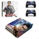 Yakuza 4 decal skin sticker for PS4 Pro console and controllers