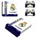Real Madrid decal skin sticker for PS4 Pro console and controllers
