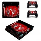 Assassin's Creed decal skin sticker for PS4 Slim console and controllers