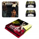 Judge Eyes decal skin sticker for PS4 Slim console and controllers