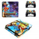Dragon Quest Builders decal skin sticker for PS4 Slim console and controllers