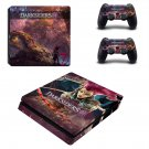 Darksiders 3 decal skin sticker for PS4 Slim console and controllers