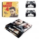Just Cause 4 decal skin sticker for PS4 Slim console and controllers