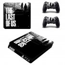 The Last of us decal skin sticker for PS4 Slim console and controllers