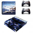 ACE Combat 7 decal skin sticker for PS4 Slim console and controllers