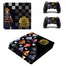 Kingdom Hearts 3 decal skin sticker for PS4 Slim console and controllers