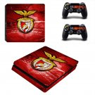 SL Benfica decal skin sticker for PS4 Slim console and controllers
