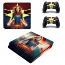 Supergirl decal skin sticker for PS4 Slim console and controllers