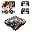 Soulcalibur 6 decal skin sticker for PS4 Slim console and controllers