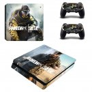Rainbow Six Siege decal skin sticker for PS4 Slim console and controllers