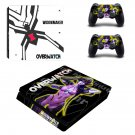 Overwatch widowmaker decal skin sticker for PS4 Slim console and controllers