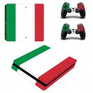 Color column decal skin sticker for PS4 Slim console and controllers