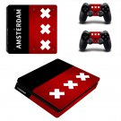 Amsterdam decal skin sticker for PS4 Slim console and controllers