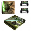 Star Wars 4 decal skin sticker for PS4 Slim console and controllers