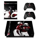 Arizona Cardinals decal skin sticker for Xbox One X console and controllers