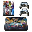 Anthem decal skin sticker for Xbox One X console and controllers