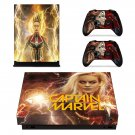 Supergirl decal skin sticker for Xbox One X console and controllers