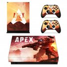 Apex Legends decal skin sticker for Xbox One X console and controllers