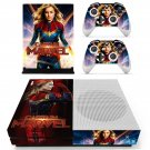 Supergirl decal skin sticker for Xbox One S console and controllers