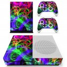Abstraction decal skin sticker for Xbox One S console and controllers