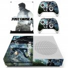 Just Cause 4 decal skin sticker for Xbox One S console and controllers