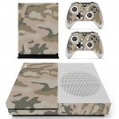 Camouflage decal skin sticker for Xbox One S console and controllers