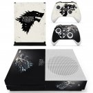Game of Thrones decal skin sticker for Xbox One S console and controllers