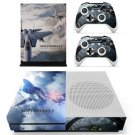 ACE Combat 7 decal skin sticker for Xbox One S console and controllers