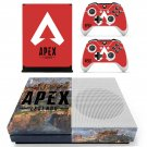 Apex Legends decal skin sticker for Xbox One S console and controllers