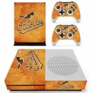 Baltimore Orioles decal skin sticker for Xbox One S console and controllers